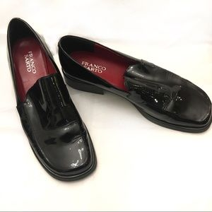 Franco Sarto Bocca Patent Leather Loafers